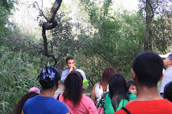 10.22.10 City of Pharr - Kids Nature Day.  Allen Williams introduces young kids to the thicket!