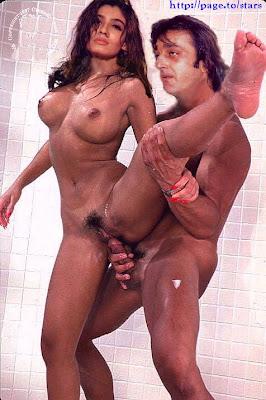 Sanjay Dutt Nude