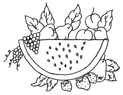 Riscos Para Guardanapos   Frutas