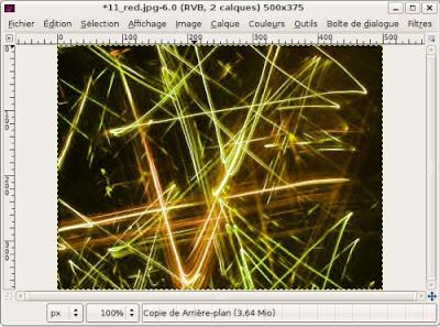 modifier couleurs image photo animation