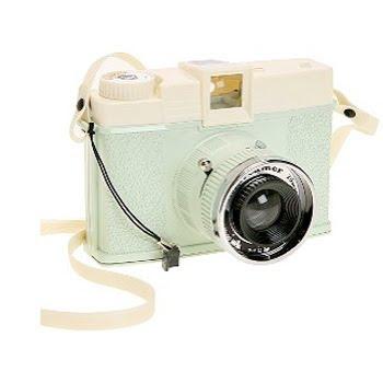 Pretty pastel Diana camera