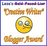 """Creative Writer"" Blog Award"