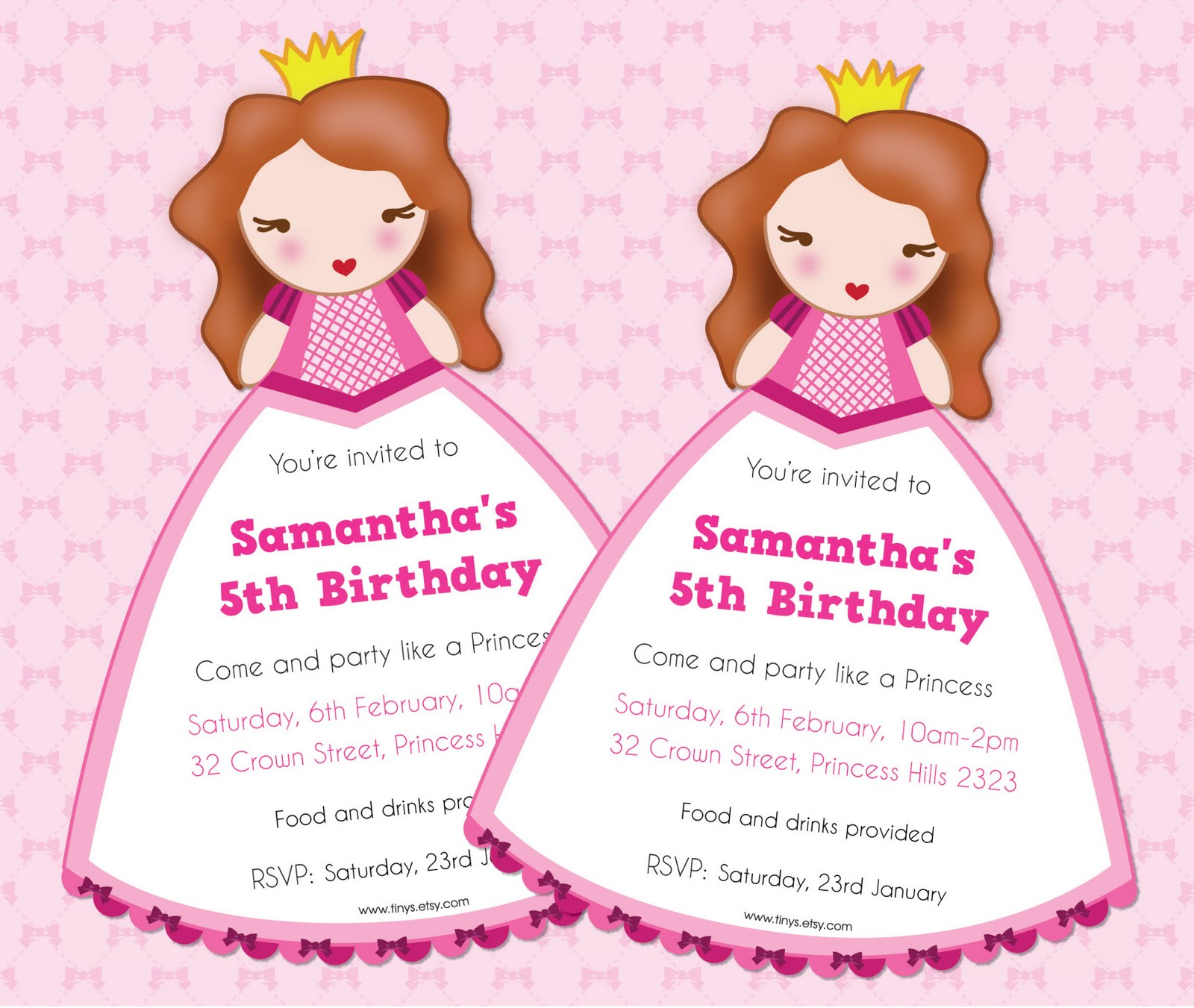 Tinysandtea free princess invite editable text free princess invite editable text filmwisefo Images