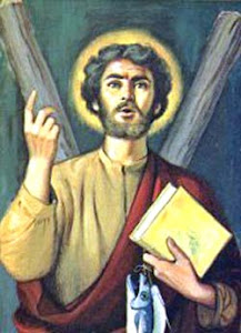 St. Andrew the Apostle is my Patron Saint for 2008!