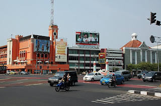 Harmoni traffic junction Jakarta