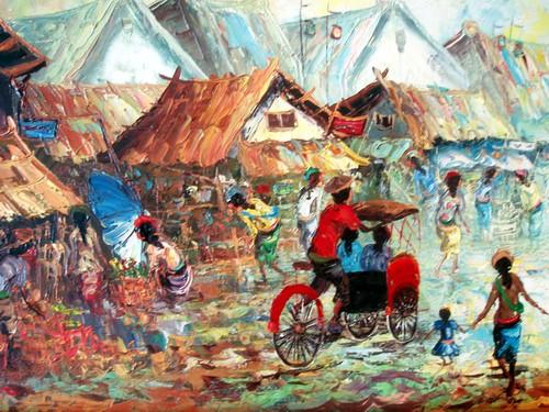 Masuknya penjajahan Belanda di Indonesia. Kecenderungan seni rupa
