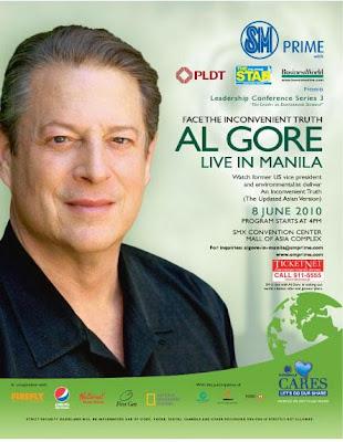 Al Gore Live in Manila