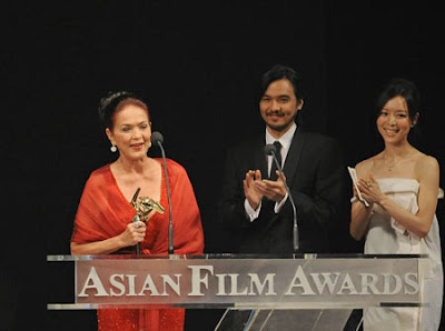 Gina Pareño won the 3rd Asian Awards Best Supporting Actress
