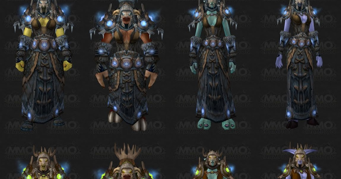 totally elemental tier 10 armor set shamans
