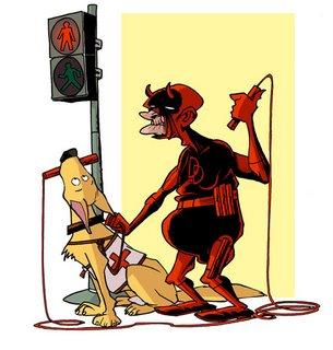 Asi se verian estos personajes a los 60 años Devil