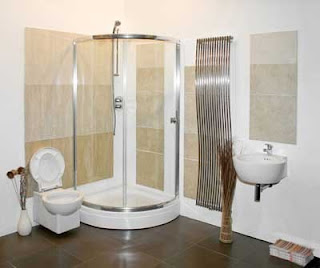 bathroom design glass modern