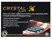 Natural Crystal-x Solusi Keputihan