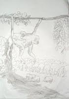 ആറാം ക്ലാസ്സിലെ ശിവപ്രസാദിന്റെ പെന്സില് ഡ്രോയിംഗ്