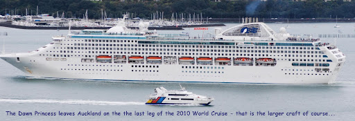 Five sixths of a World Cruise plus - 2011..