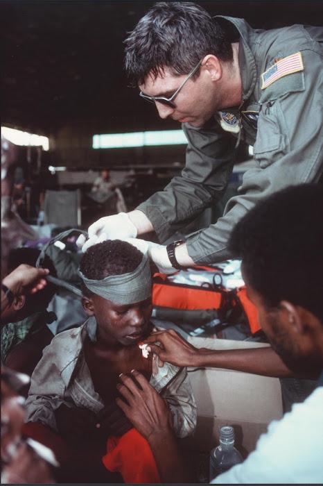 Major James F. Doran, Flt Surgeon, 89th AW, Andrews AFB, MD