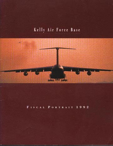 Kelly AFB Fiscal Portrait 1992