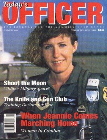 Capt. Jeannie Flynn First USAF Female Fighter Pilot