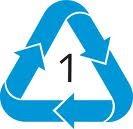 Polimeros simbologia reciclaje polimeros for Tambores para agua potable