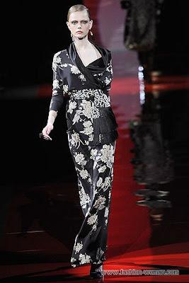 etro osen zima 2010 2011 Вечірні сукні (фото). Вечірні плаття від знаменитих Будинків Мод