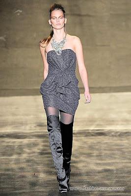 badgley mischka osen zima 2010 2011 10 Вечірні сукні (фото). Вечірні плаття від знаменитих Будинків Мод