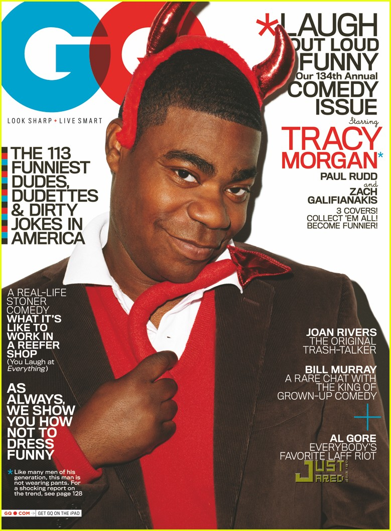 06 tracy morgan gq august 2010 Japanese model gets some hardcore sex action