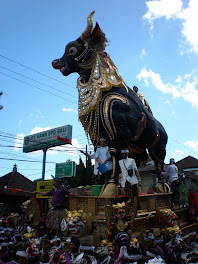 Ubud, Traditional Baliness Cremation (=Ngaben)