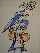 O Luciano, A Ana Luísa e o Colibri