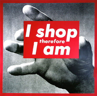 Barbare Kruger - I shop therefore I am