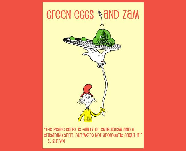 Green Eggs and Zam