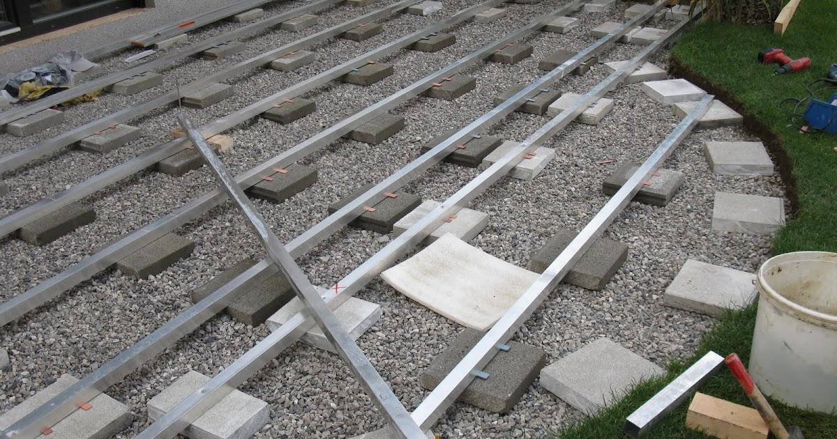 Unterkonstruktion Terrasse : Bautagebuch PB Unterkonstruktion f u00fcr die Terrasse