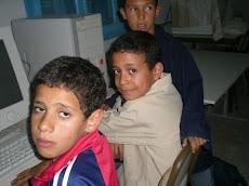 C'est Ahmed et Marouene de la 5ème b