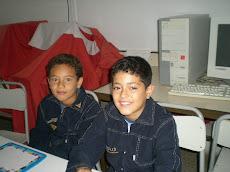 Jesser et Mohamed de la 3ème A