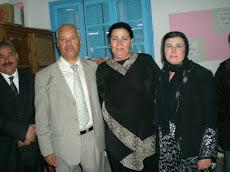 Pendant la cérémonie honorifique de Si Alaya