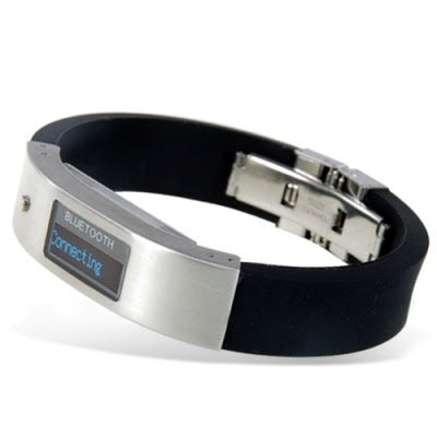 Bluetooth Bracelet with Vibration and LCD Display Left Side