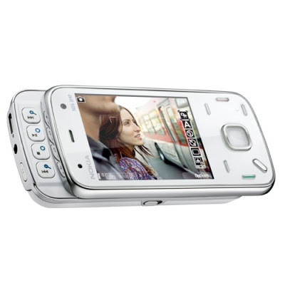 Nokia N86 8MP White Front