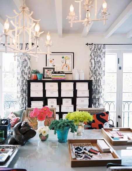 A blonde ambition office space for Office space inspiration