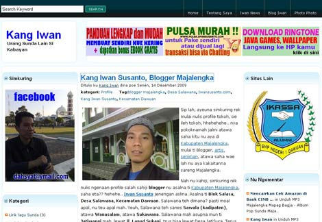 tema wordpress blog kang iwan dulu