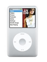 Apple iPod classic 160 GB Silver (6th Generation)