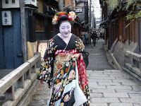 北海道生まれの舞妓、再会を歓んでいた