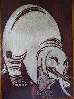 宗達筆の象の絵