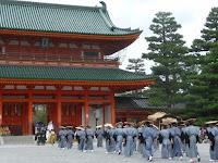 京都御苑から平安神宮まで4.5kmの道程
