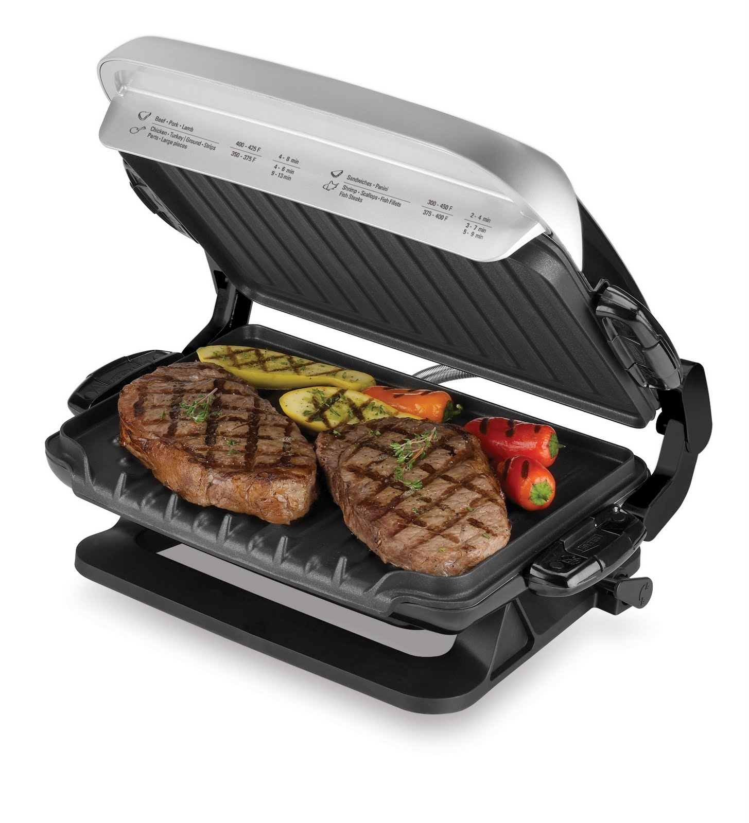 George Foreman Grill ~ George foreman healthy cooking evolve grill giveaway