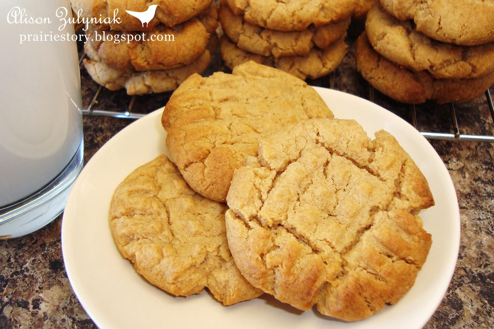 Prairie Story: Peanut Butter Cookies