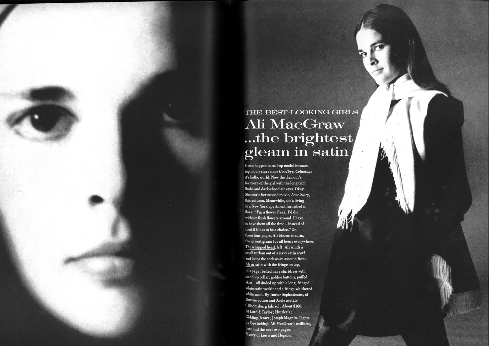 Some ali from 1st august 1969 us vogue scanned by me and from my blog http ciaovogut blogspot com