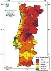 Previsão do Risco de Incêndio Florestal para o próprio dia