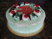 Pandan Layer Cake  9''  RM 60.00