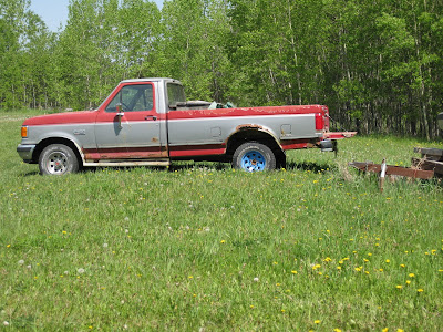 Old Ford Trucks Lifted. The old truck ran good to