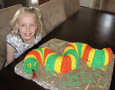 Snake Birthday Cake Ideas