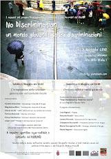 """""""No Discrimination"""", un mondo giovanile senza discriminazioni"""