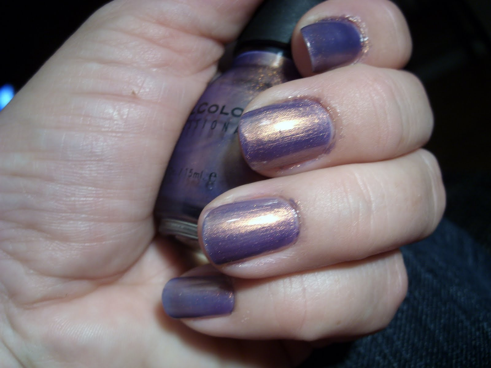 Almost never without nail polish: augusti 2010